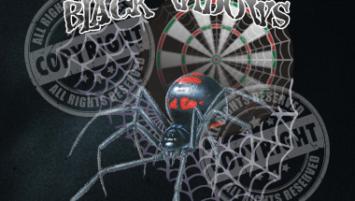 Black Widows Darts Shirt Design