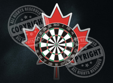 Canadian Pride Darts Shirt Design
