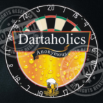 Dartaholics Anonymous Darts Shirt Design