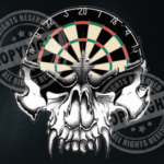 Darts Skull Darts Shirt Design
