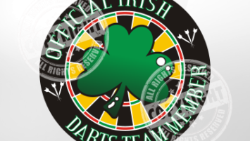 Irish Darts Team Member Darts Shirt Design