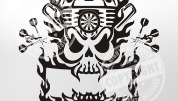 Motorhead Darts Shirt Design