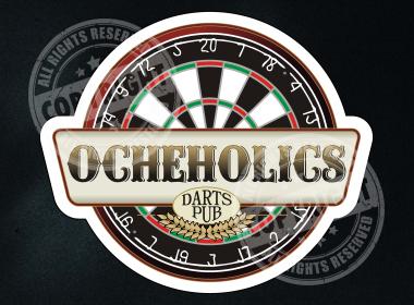 Ocheholics Darts Shirt Design