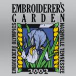 Embroiderers Garden Trade Show Event and Logo Design