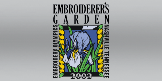 Embroiderers Garden Trade Show Event and Logo Design