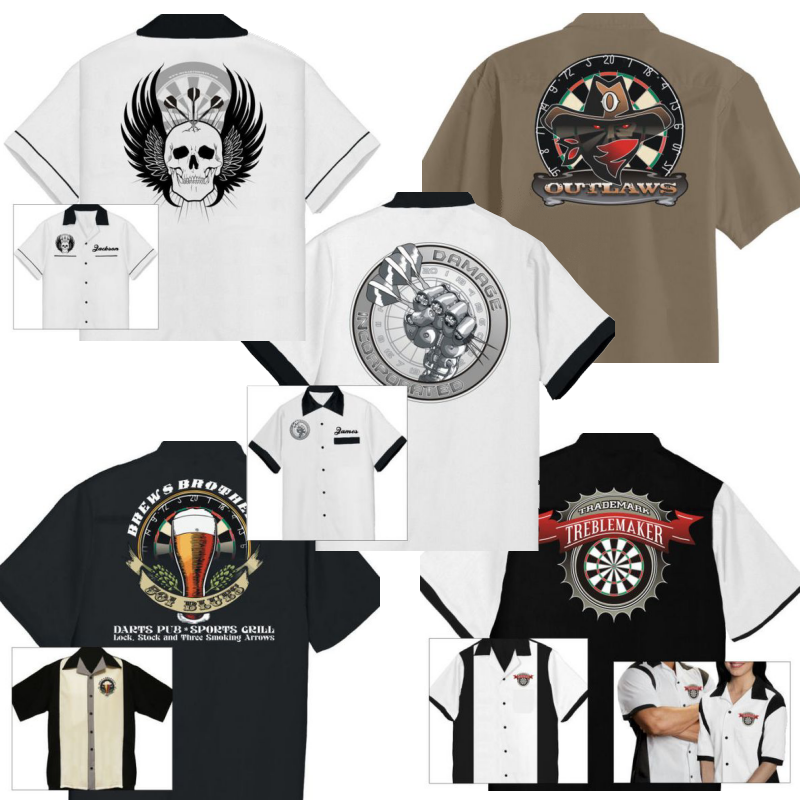 Custom Darts Shirt Designs and Apparel