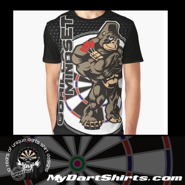 Gorilla Mindset Darts Shirt