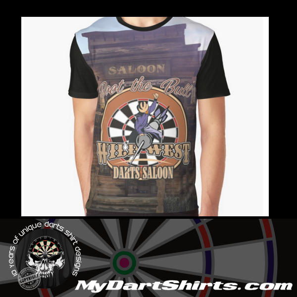 Wild West Darts Saloon Darts Shirt