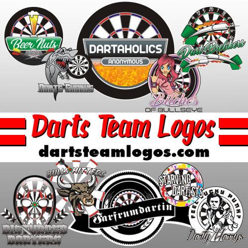 your destination for darts logos and unique darts designs rags to