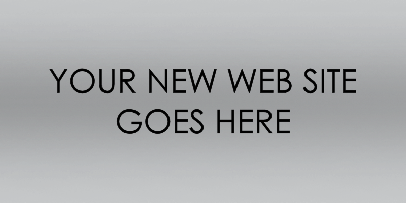 Your New Web Site