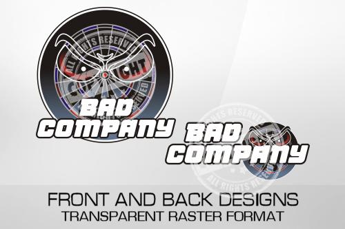 Bad Company Darts Shirt Design