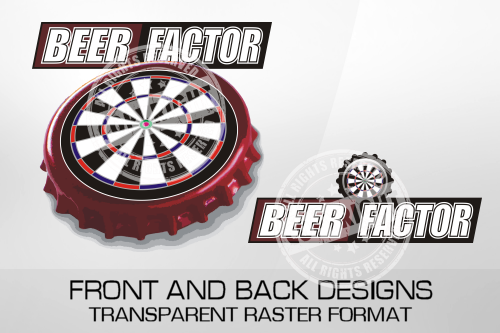 Beer Factor Darts Shirt Design