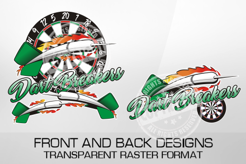 Dart Breakers Darts Shirt Design