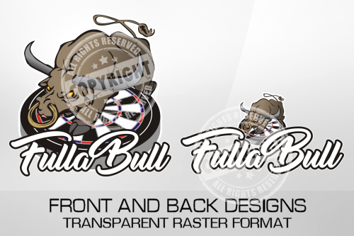 Fullabull Darts Shirt Design