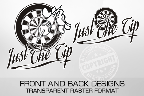 Just The Tip Darts Shirt Design